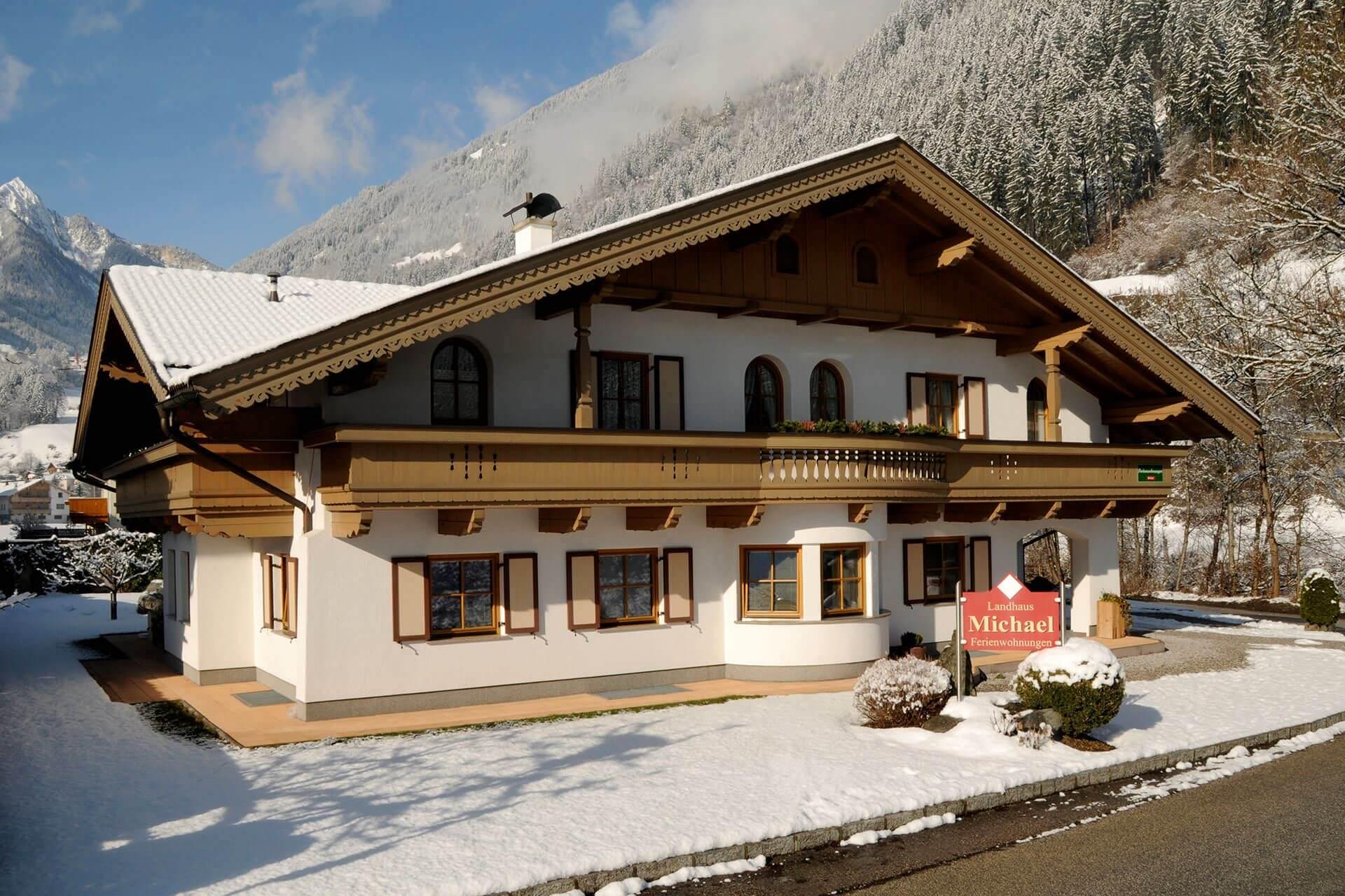 Landhaus Michael Aussenansicht