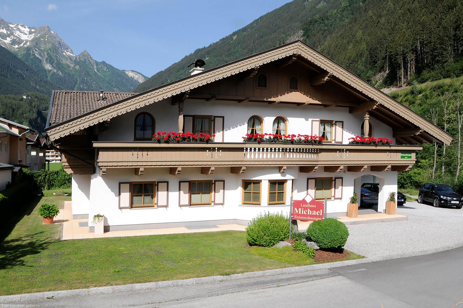 Landhaus Michael außen